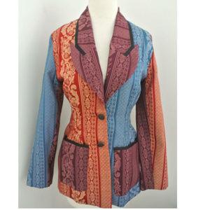 Vtg TODD OLDHAM Times Seven Brocade jacket